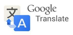 Google Translate free translation